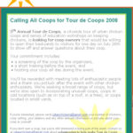 Calling All Coops