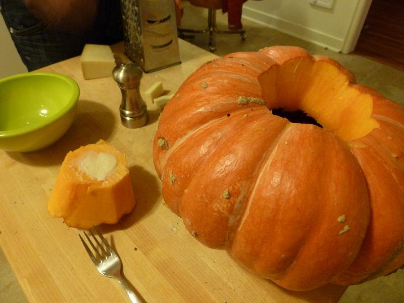 Stuffed Pumpkin Recipe