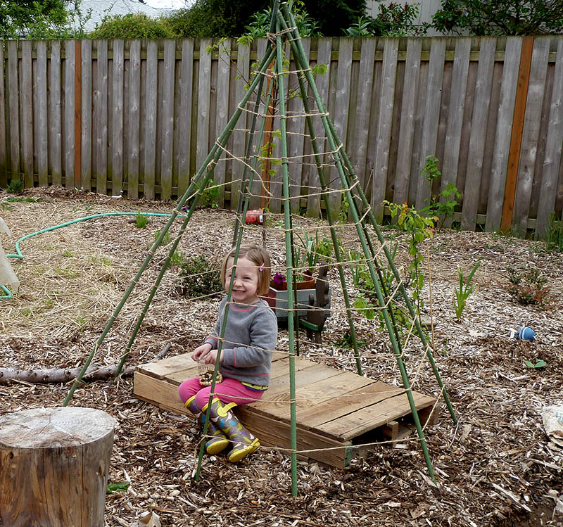 Bean Play Teepee