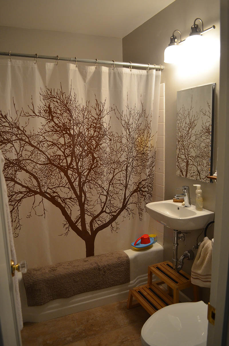 Remodeling Bathroom While Pregnant rustic modern bathroom remodel | hip chick digs