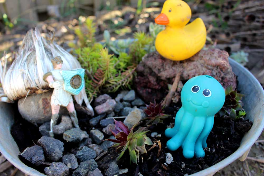 How to Build a Fairy Garden Planter