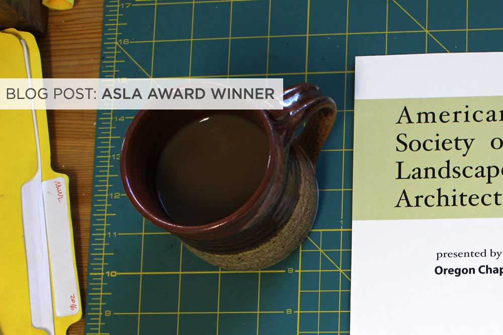 ASLA Award Winner